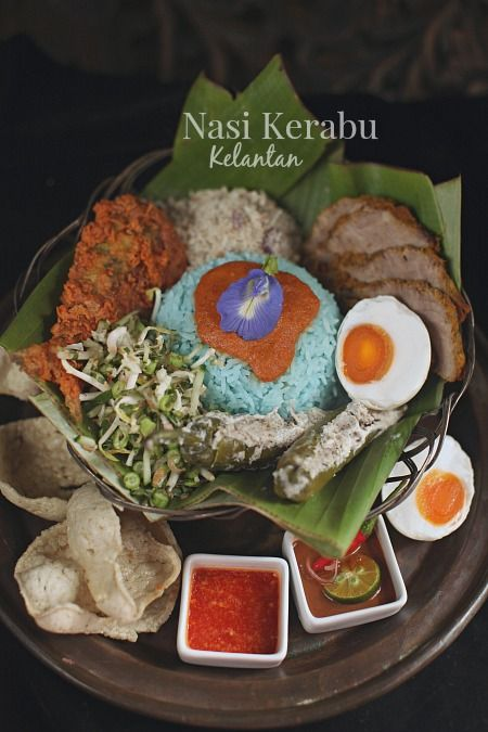 Resepi Nasi Kerabu Kelantan Yang Sangat Sedap Makanan Dan Minuman Resep Masakan Malaysia Resep Masakan Indonesia