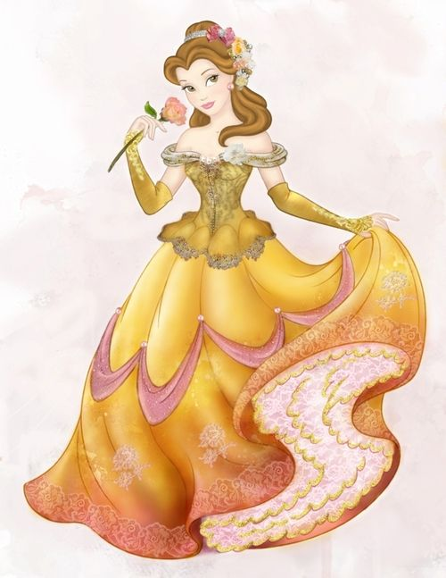 Beauty And The Beast Belle Figure Skating Dress Inspiration For Sk8 Gr8 Designs