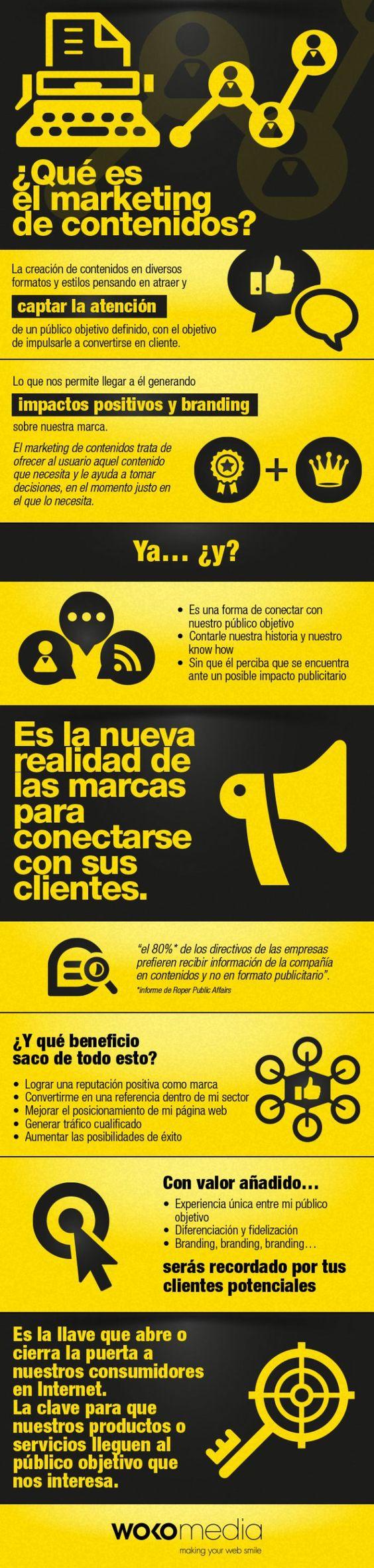 Qué es marketing de #contenidos