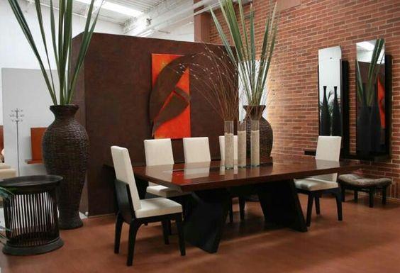 Comedor diningroom pinterest comedores for Decoracion de hogar moderno