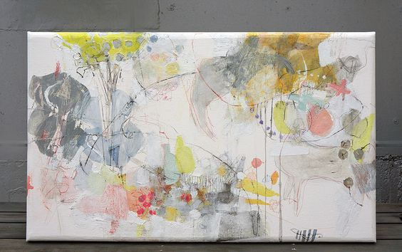 Iro iro (2013) oil on canvas, ink, pigment, charcoal, pastel, coloured pencil 960x570x40mm   Flickr – Condivisione di foto!