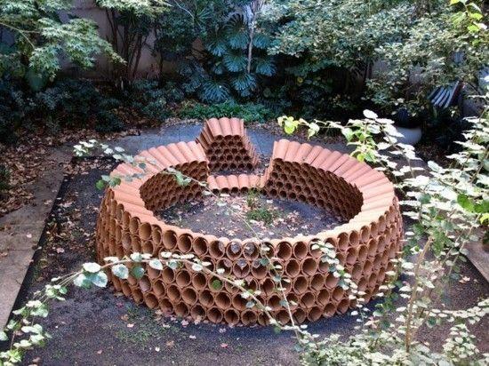 Alte Dachziegel In Kreative Gartendeko Umwandeln Garten Deko Dachziegel Gartenstruktur