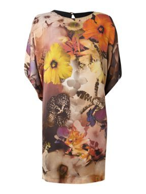 Mary Portas Hyper floral batwing dress: Dresses, Floral Floral, Hyper Floral, Fraser