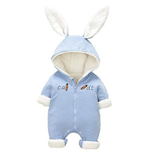 Maxomorra Baby Schlafstrampler Blau Artic Fox