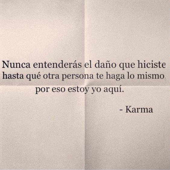 karma quotes in spanish - photo #24