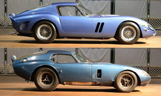 The Shelby Cobra Daytona Coupe Vs The Ferrari 250 Gto Shelby Daytona Shelby Daytona Coupe Daytona Coupe
