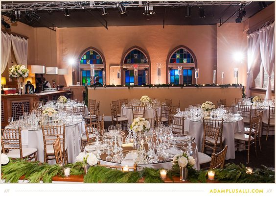 Rehearsal dinner or wedding reception decorations beautiful table rehearsal dinner or wedding reception decorations beautiful table setups glassware cream flowers flowers by httpaucourantfloral pinteres junglespirit Images