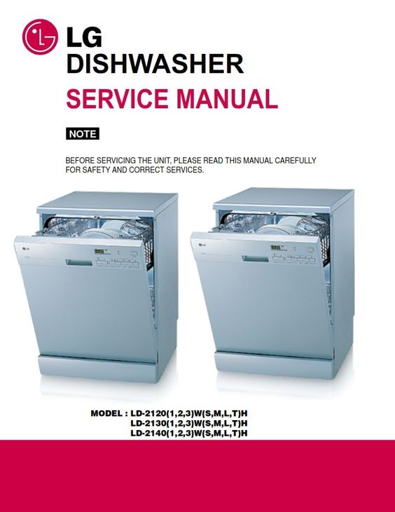 Pin On Lg Dishwasher Service Manual