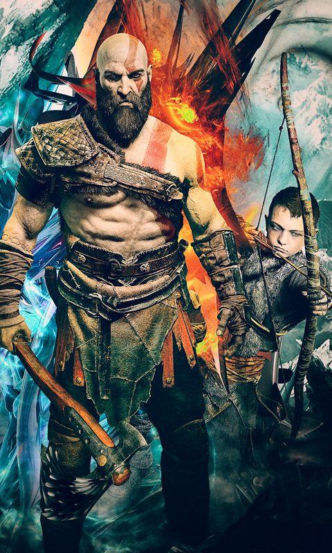 Kratos God Of War 4k Artwork Wallpaper For Iphone And 4k For Laptop Download Now For Free Hd 4k Games Artwork Psgames Go Kratos God Of War God Of War War