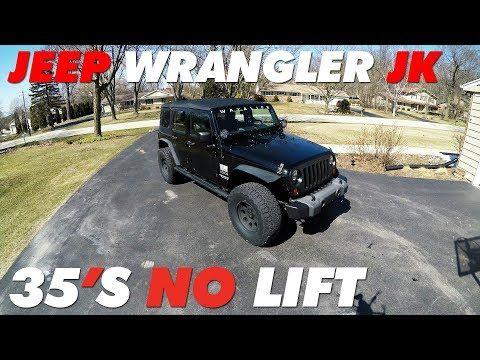 Jeep Jk 35 S No Lift Youtube Jeep Jk Jeep Jku Jeep