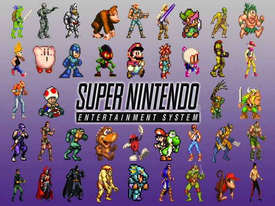 Super Nintendo? Great system. Graphics and sound untouched by Sega Genesis (Megadrive).