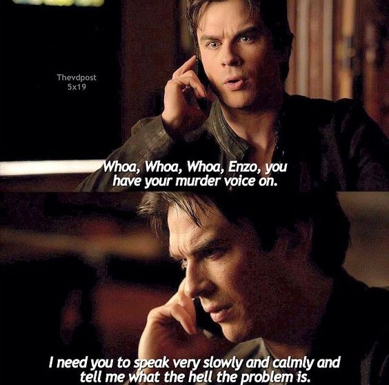 The vampire diaries Damon & Enzo | The Vampire Diaries ...