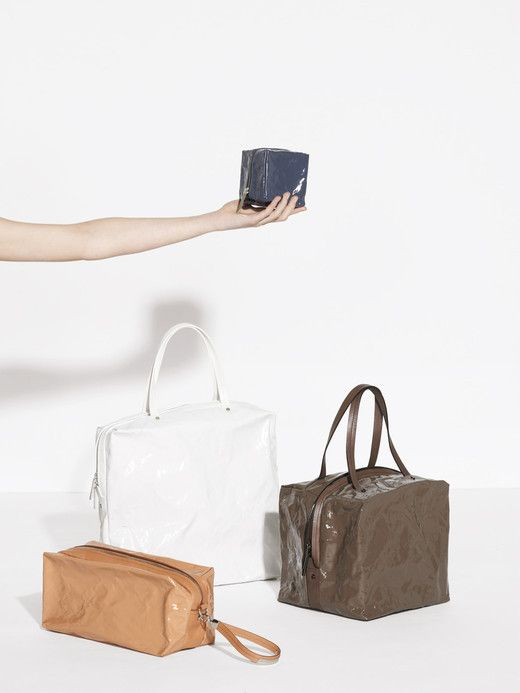 Clay-Like NOUGAT Bag Series from PLEATS PLEASE ISSEY MIYAKE