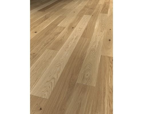 Parkettgolv Skandor 1 Stav Mattlackad Ek Hardwood Floors Hardwood Flooring