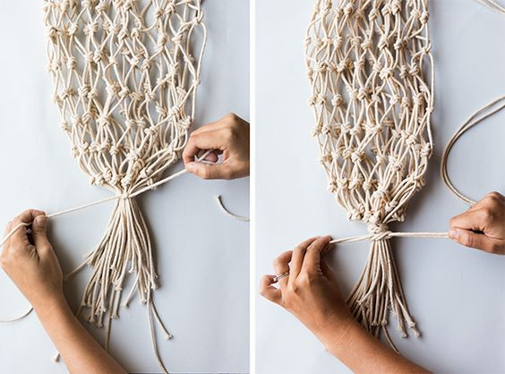 say yes - diy net produce bag