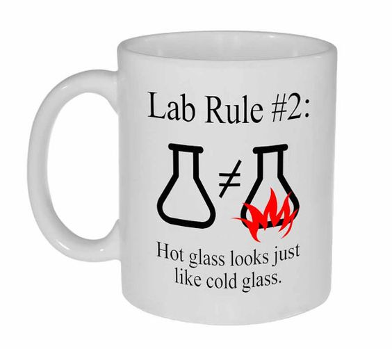 Science Chemistry Funny Coffee or Tea Mug by NeuronsNotIncluded: