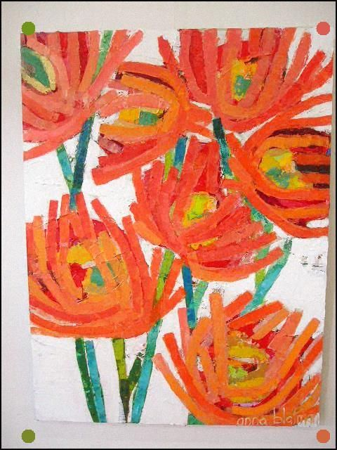 Pin By Ellen Powell On Mailbox Ideas In 2021 Flower Art Abstract Flower Painting Art Painting