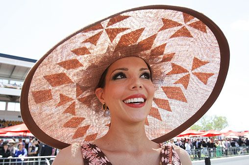 Dec 12 - Hat - Melbourne Cup day and it's array of hats!