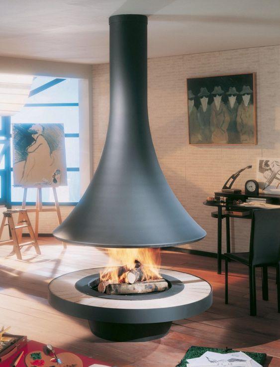 Unique Fireplaces Design In French - Unique Fireplaces Design ...