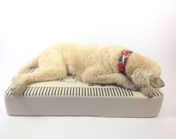 Lit pour chien, 27x40 pouces aussi disponible 25x25 plusieurs choix de couleurs a venir...