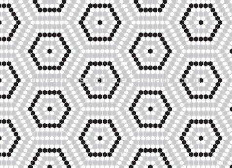 hexagon tile patterns for floors - Google Search