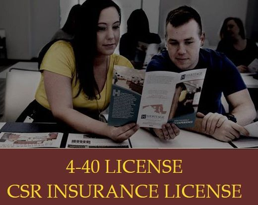 4 40 Insurance License Is Intended To Be A License For Service And