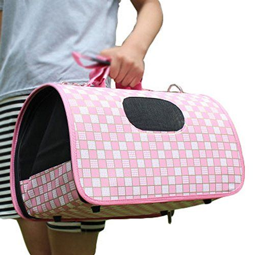 M Size Carry Bag Sweet Cute Pet Home Dog Cat Carrier House Travelpink Click On The Image For Additional Details This Is An Dog Carrier Cat Carrier Dog Bag
