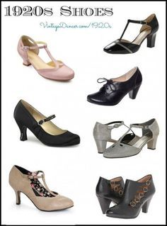 1920s Style Shoes Perfect For A Downton Abbey Costume Vintagedancer
