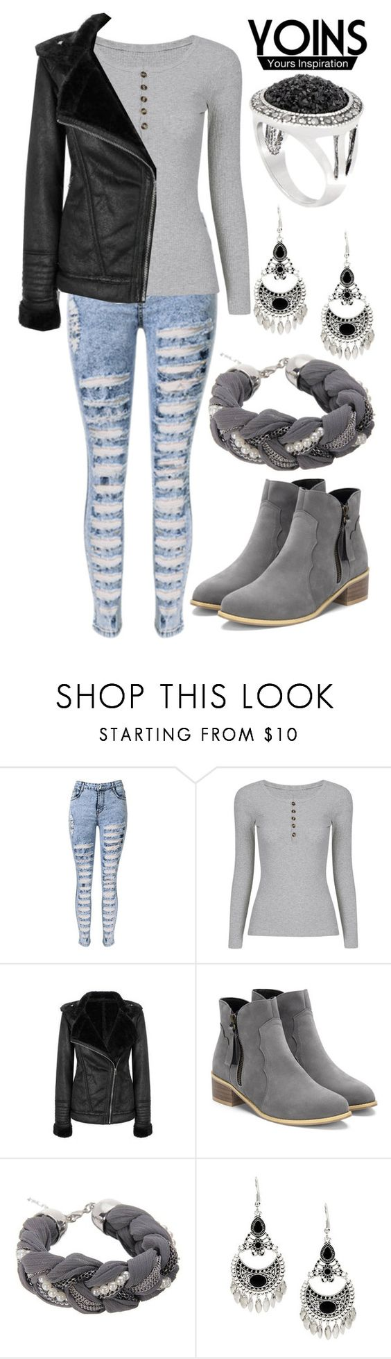 """""""YOINS"""" by deedee-pekarik ❤ liked on Polyvore featuring yoins, yoinscollection and loveyoins"""