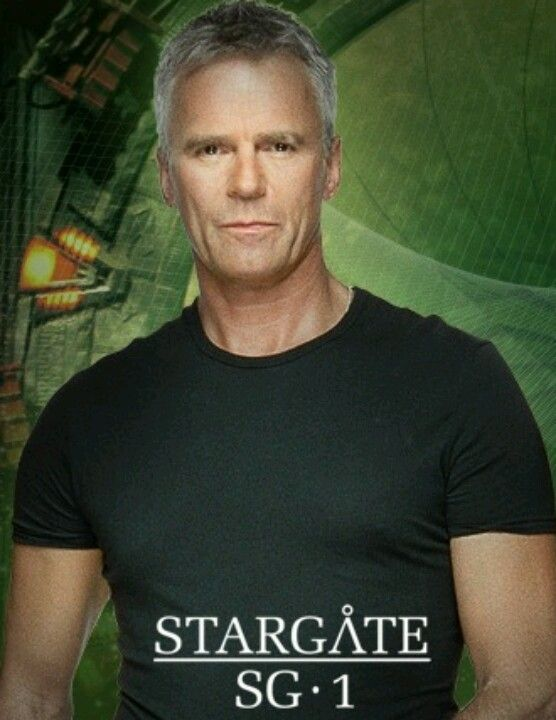 Stargate -  Richard Dean Anderson ...  Colonel Jack O'Neill I have a strange yet very really crush on this man!