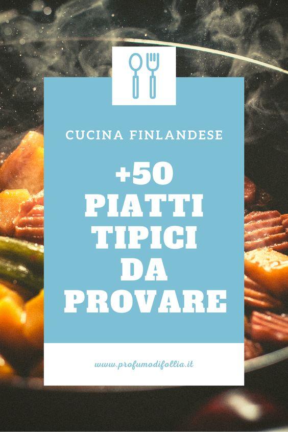 Piu' di cinquanta piatti tipici finlandesi da provare - Pinterest