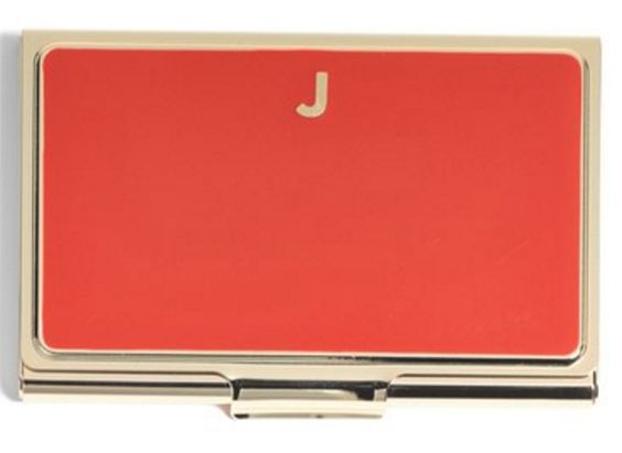 Enamel Business Card Holder
