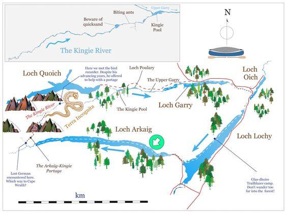 Terra Incognita: a Loch Arkaig-Garry-Lochy circuit. Part 1.