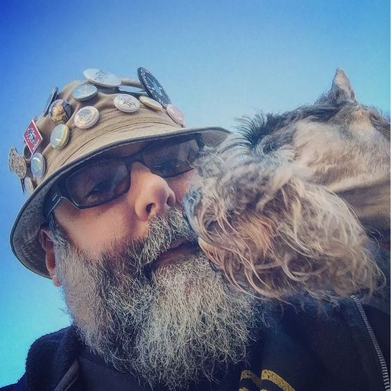 Just a couple of beardie weirdies