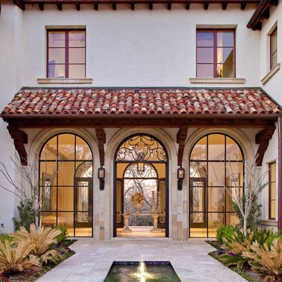 Exterior Photos Spanish Colonial Awnings Design Pictures