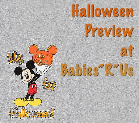 Disney Baby Halloween Preview at Babies