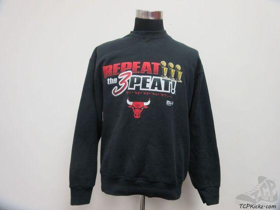 Vtg 90s Pro Player Chicago Bulls Crewneck Sweatshirt sz L Large Jordan Pippen #ProPlayer #ChicagoBulls #tcpkickz