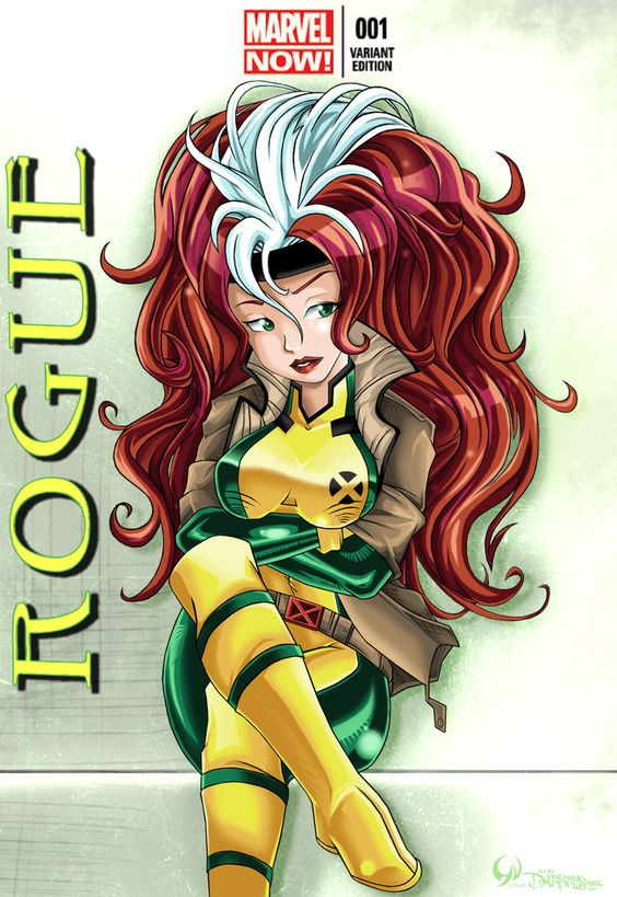 Marvel Now -Rouge by Darkness1999th on DeviantArt