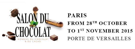 O Salão do chocolate de Paris começa esta semana