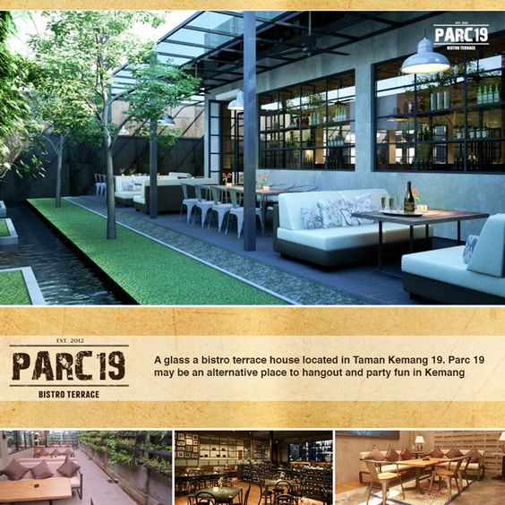 Parc 19 Jalan Taman Kemang no 19 Jakarta, beautiful places to visit in Indonesia.