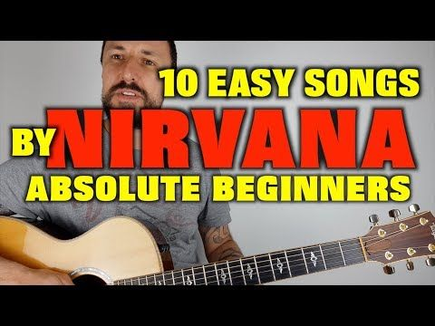 10 Easy Nirvana Songs For Beginners Youtube Tablature Guitare Gars