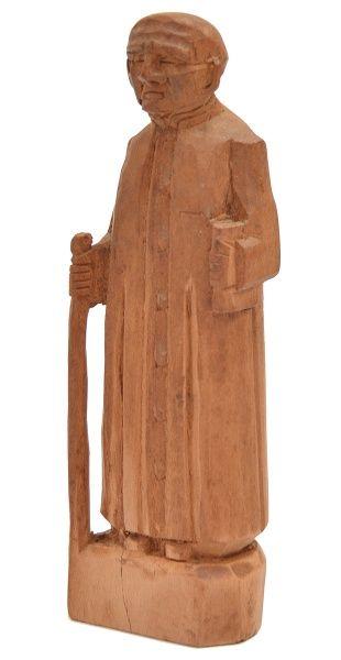 Mestre Noza. 15x4x3 cm