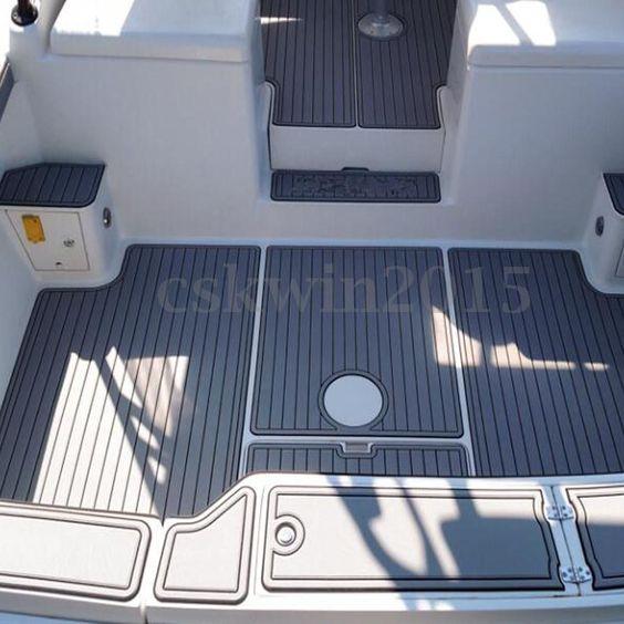 90 X35 6mm Eva Dark Gray Boat Flooring Yacht Teak Decking Carpet Sheet Pad Ebay Motors Parts Accessories Boat Pa Yacht Flooring Boat Interior Rib Boat