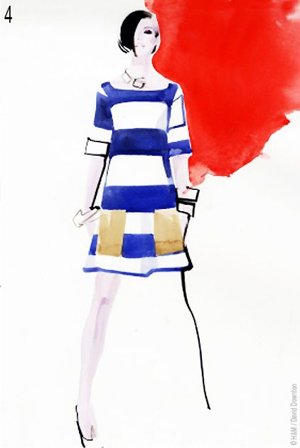 David Downton pour HM : Tendances Rentree 2011