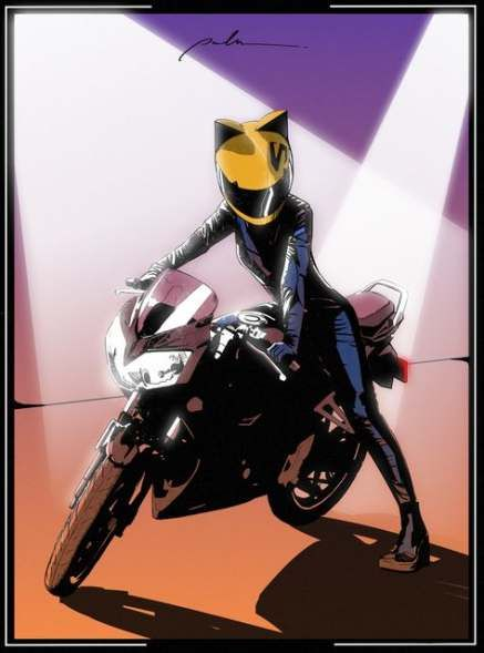Pin By Cynthia Camacho On Bike In 2020 With Images Anime