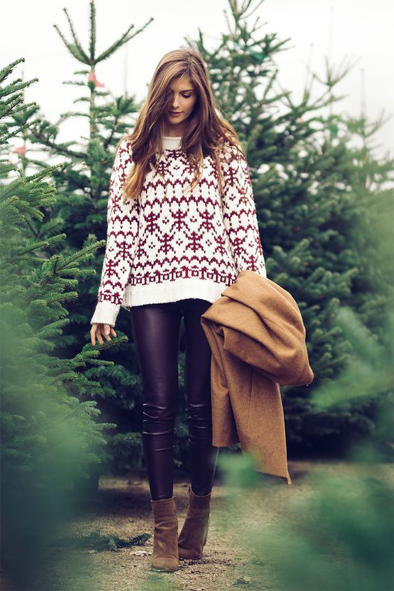 Tumblr Fashion Teen Style Cute Clothes Sweater Weather Autumn Fall Winter Outfit