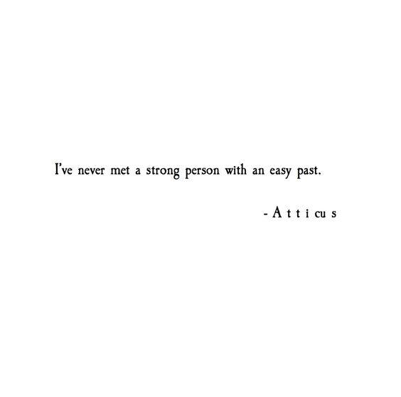 'Easy Past' #atticuspoetry