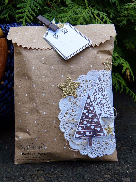 Barbaras Kreativ-Studio : weihnachtliche Verpackungen - Artisan Design Team Blog Hop: