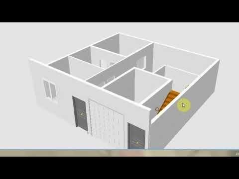 برنامج سهل لرسم تصميم منزل ثلاتي الأبعاد 3d الكل يصمم منزله Youtube Home Rent