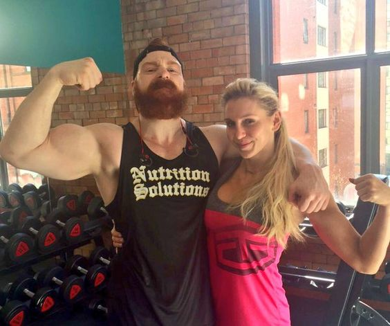 Sheamus With His Wife | www.pixshark.com - Images